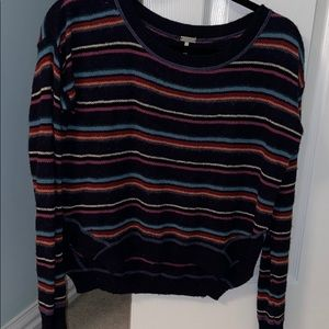 Free people striped sweater XS